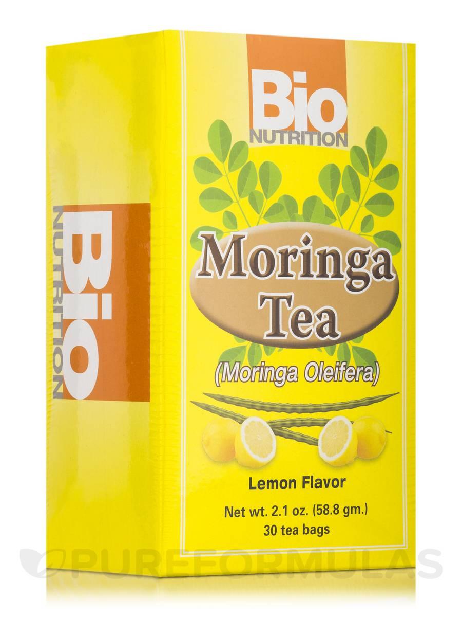 Moringa Tea (Moringa Oleifera) Lemon Flavor - 30 Tea Bags