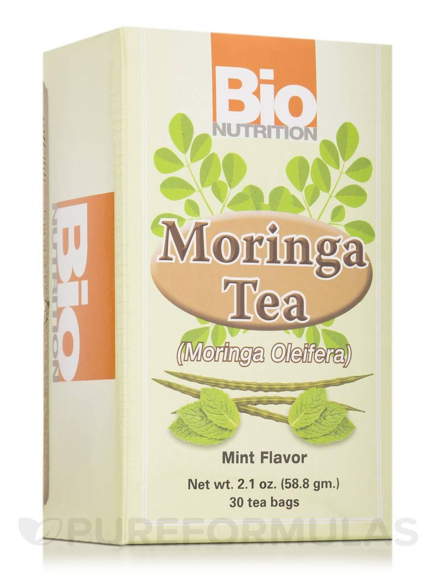 Moringa Tea (Moringa Oleifera) Mint Flavor - 30 Tea Bags