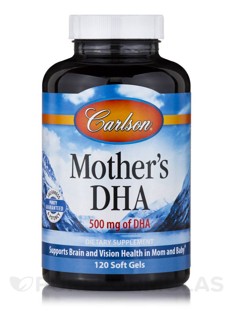 Mother's DHA 100 mg - 120 Soft Gels