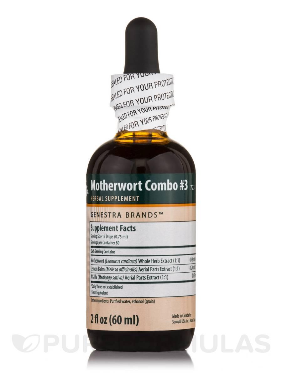 Motherwort Combination #3 - 2 fl. oz (60 ml)