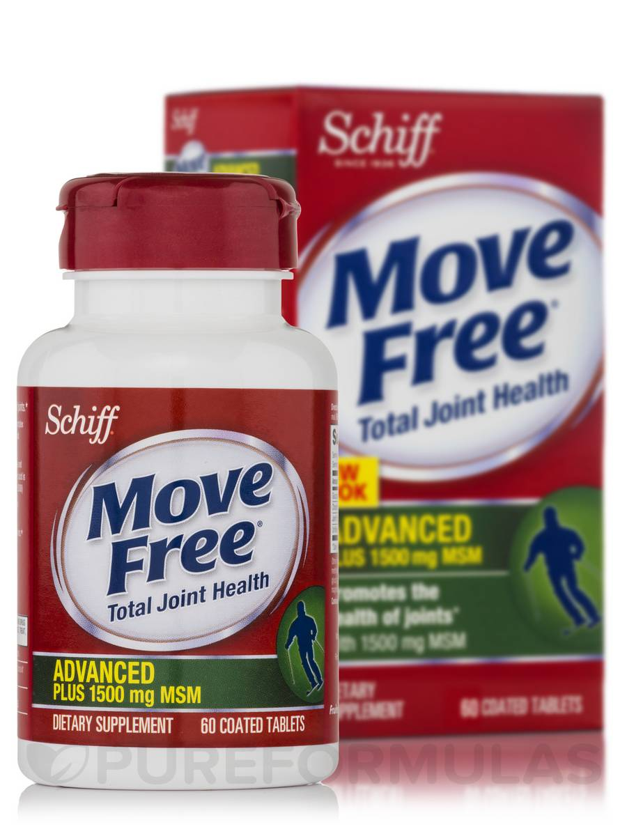 Move Free® Plus MSM - 60 Coated Tablets