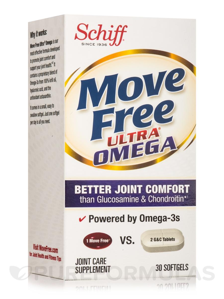 Move Free Ultra® Omega - 30 Softgels