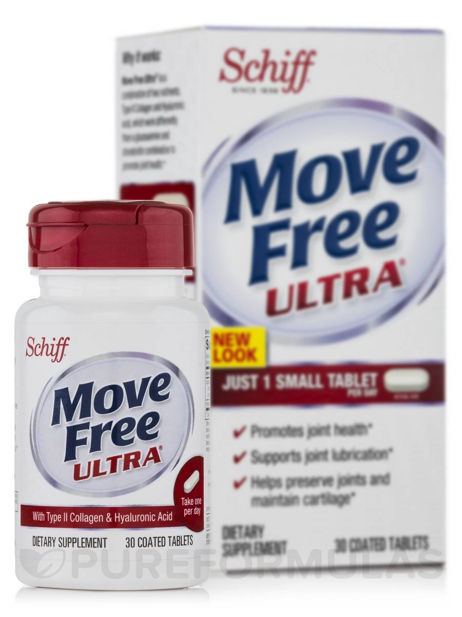 Move Free® Ultra with UCII - 30 Coated Tablets