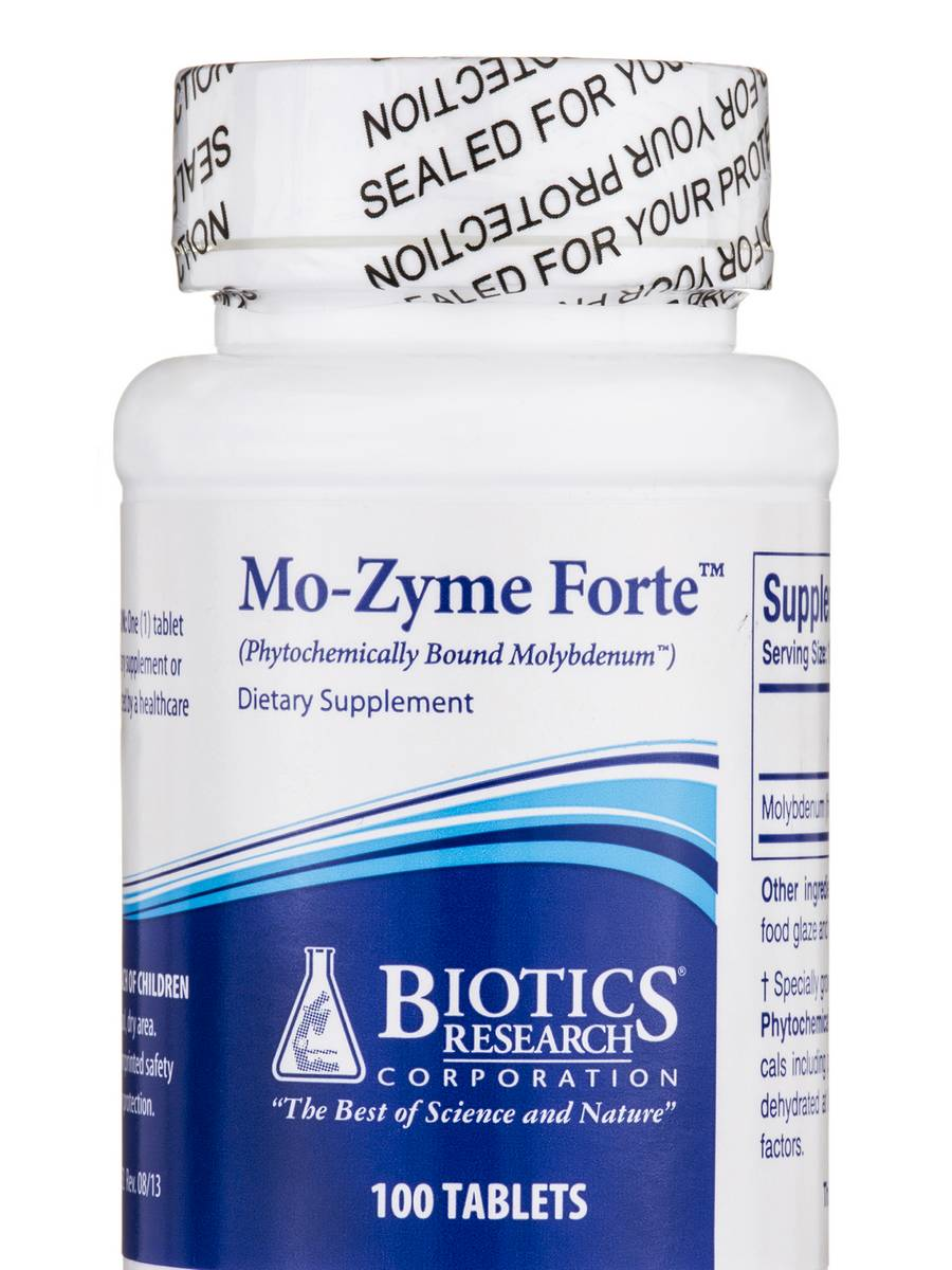 Mo-Zyme Forte - 100 Tablets