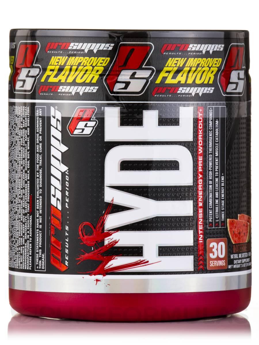 Mr. Hyde™ Pre-Workout (Watermelon Flavor) - 30 Servings (7.4 oz / 210 Grams)