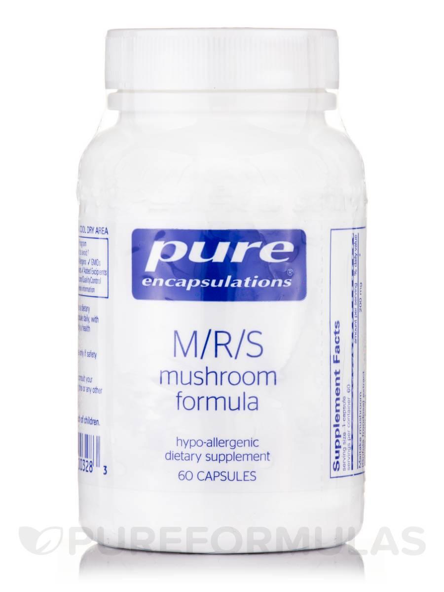 M/R/S Mushroom Formula - 60 Capsules