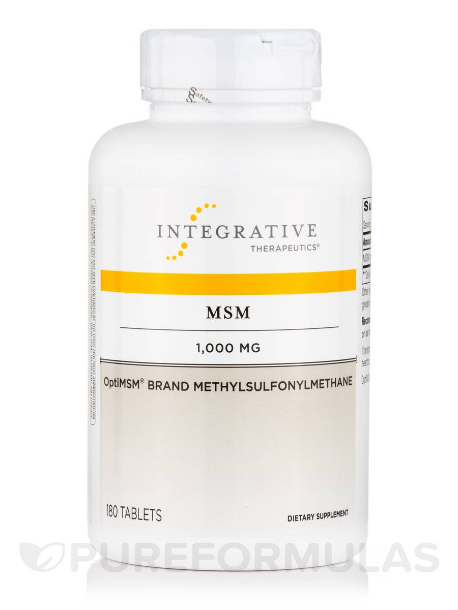 MSM 1000 mg - 180 Tablets