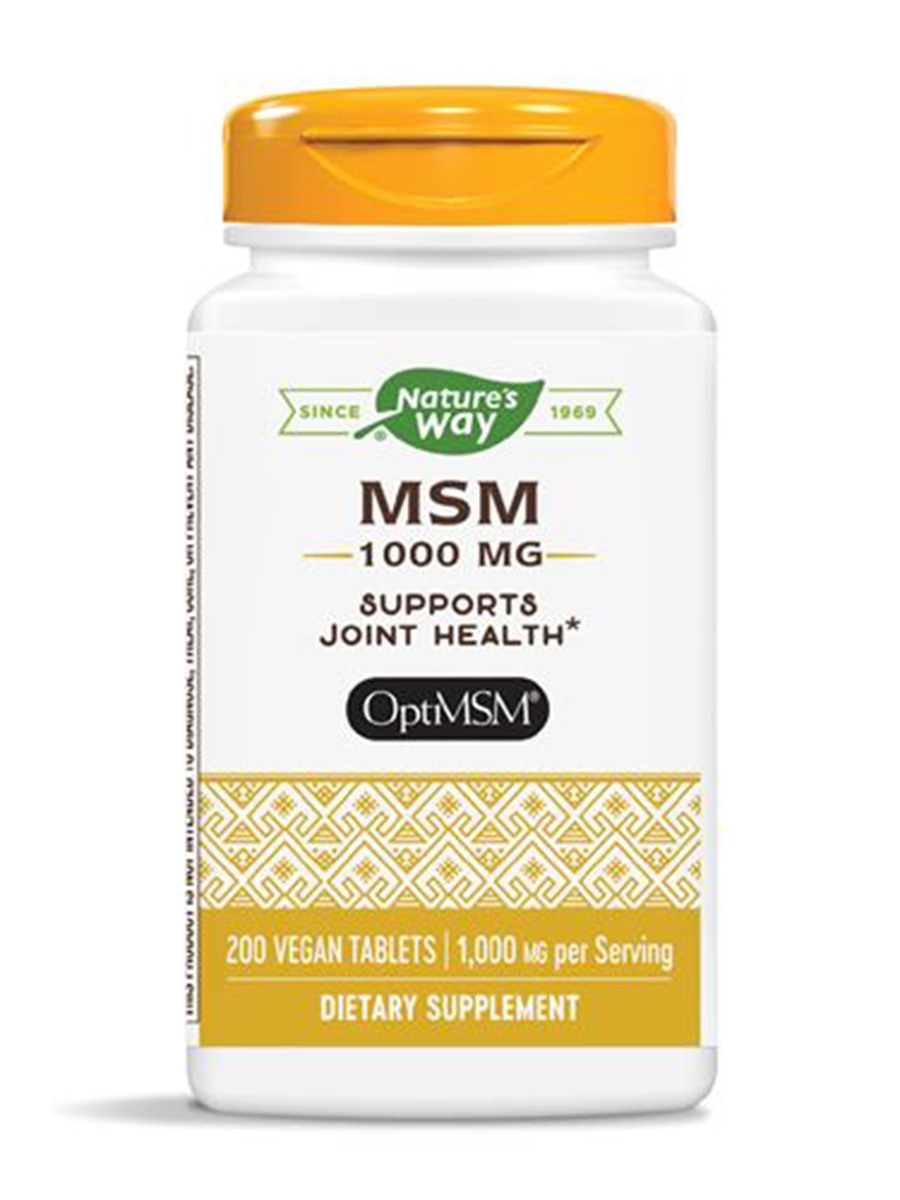 MSM 1000 mg - 200 Tablets