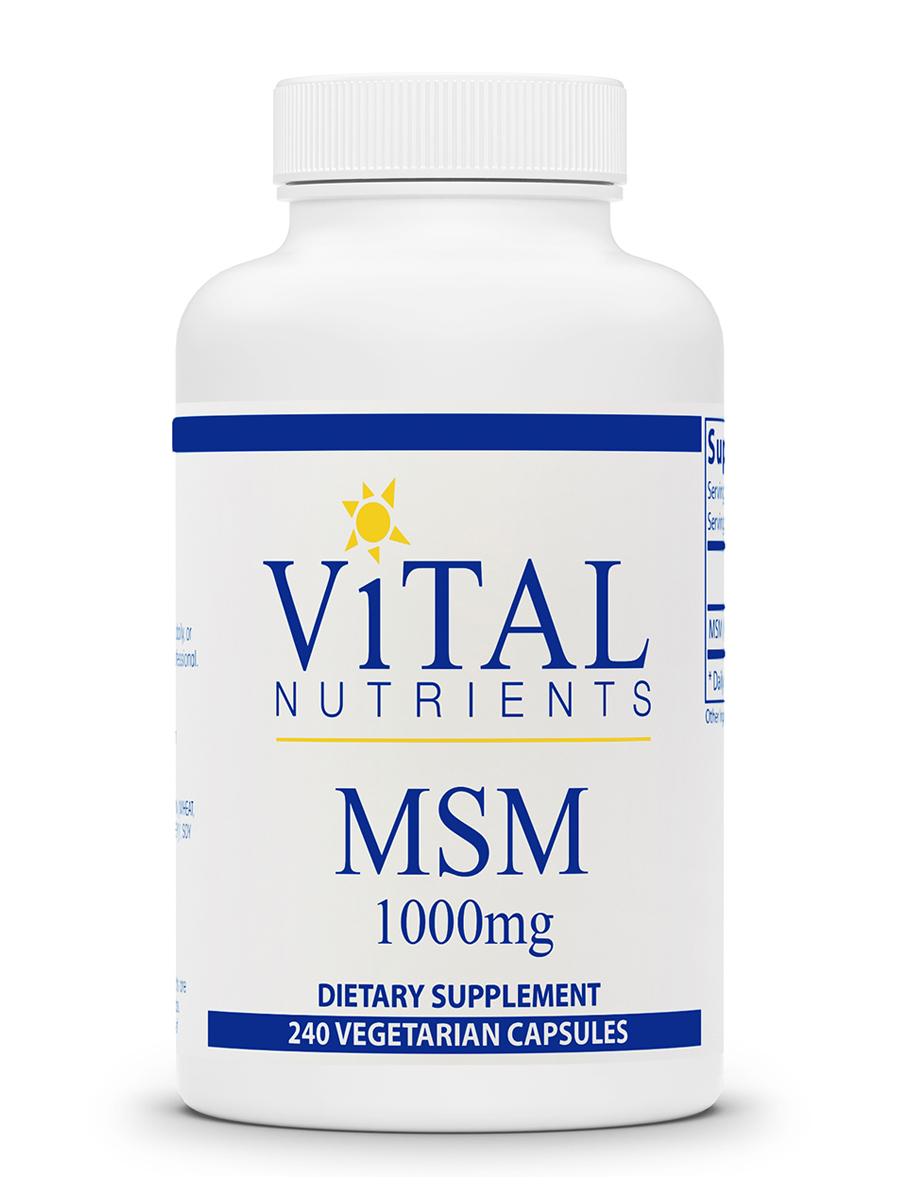 MSM 1000 mg - 240 Capsules