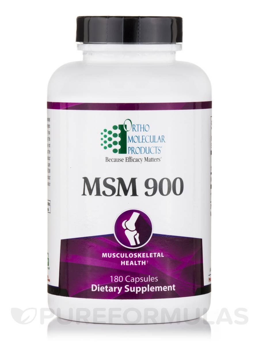 MSM 900 - 180 Capsules