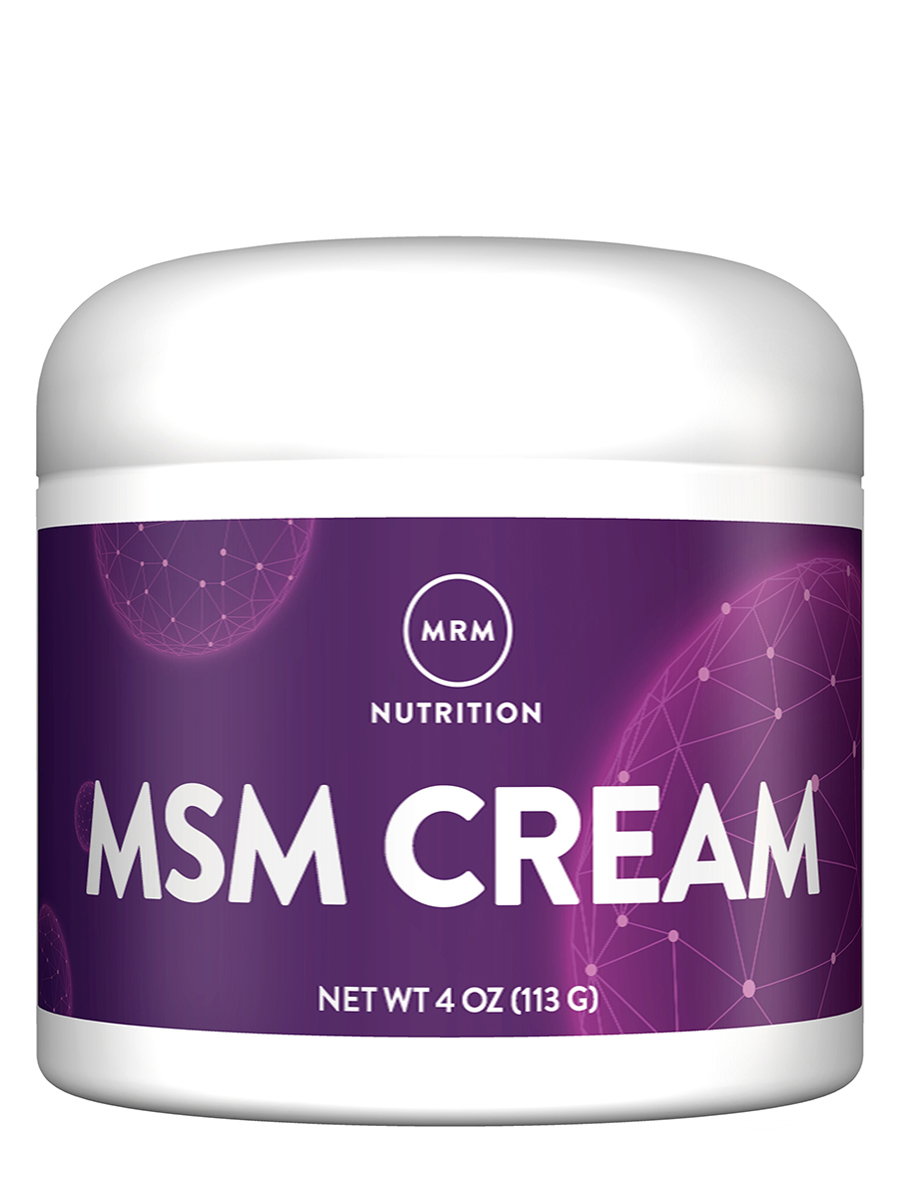 MSM Cream - 4 oz