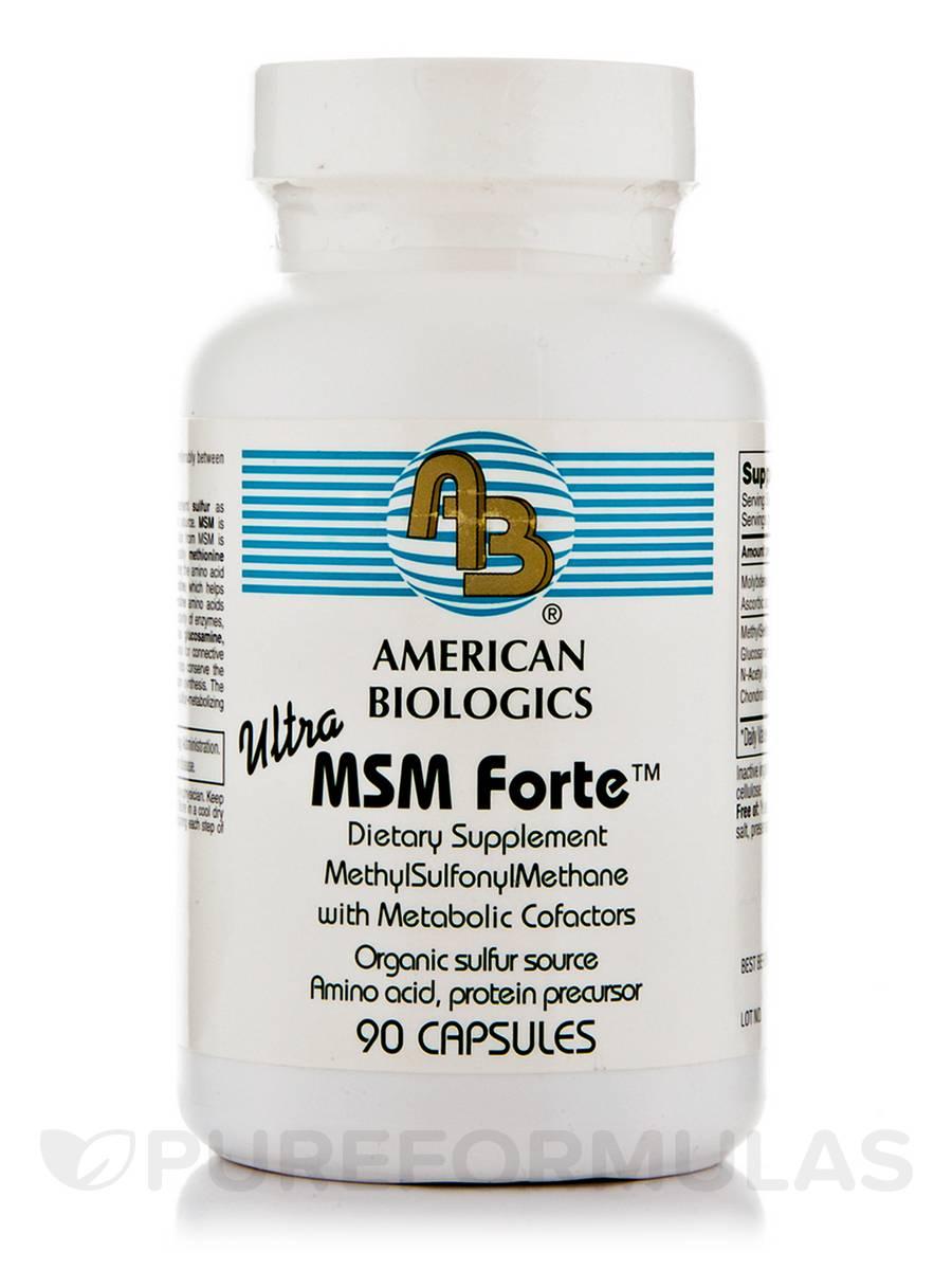 Ultra MSM Forte - 90 Capsules