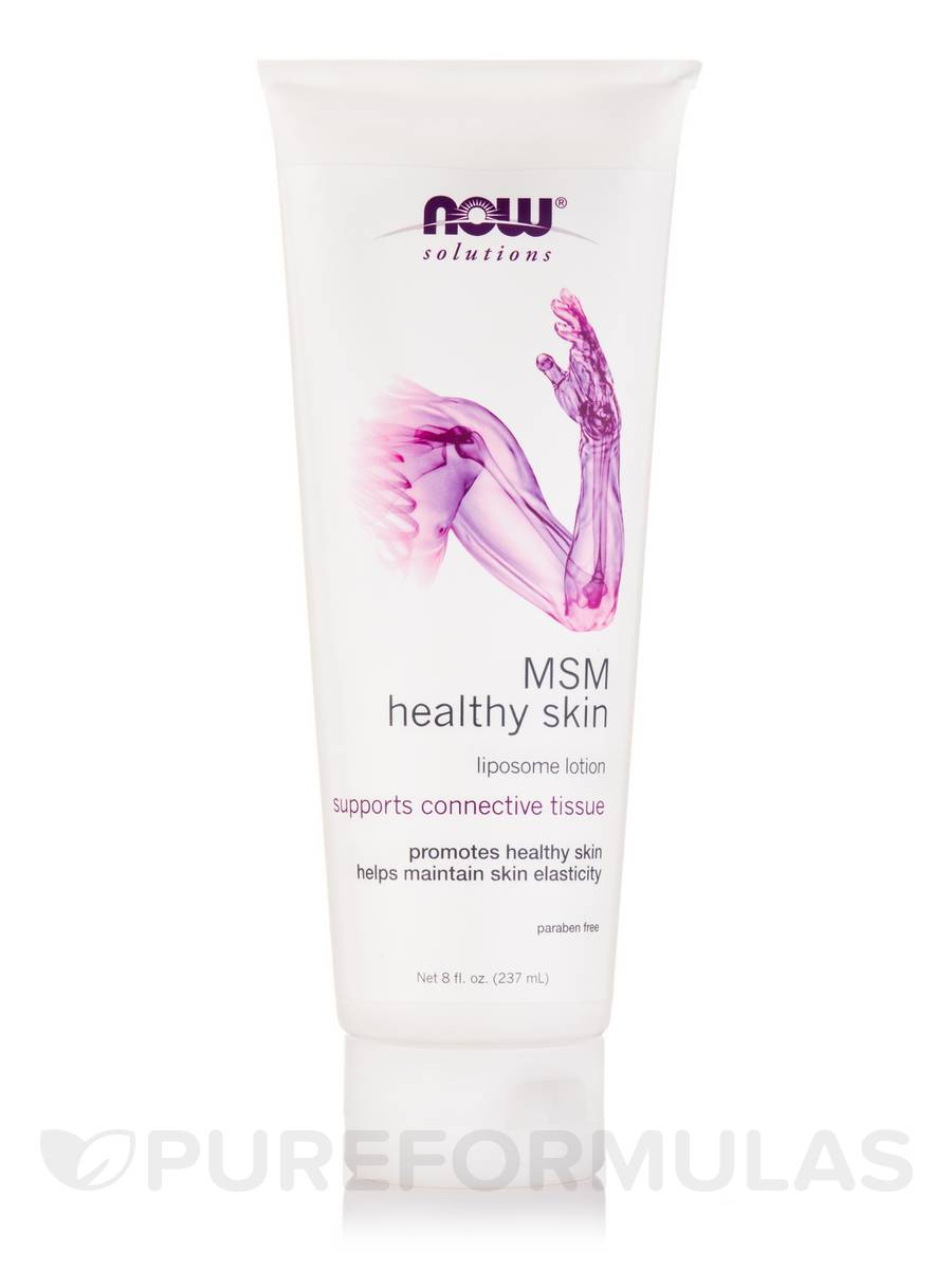 NOW® Solutions - MSM Healthy Skin Liposome Lotion - 8 fl. oz (237 ml)