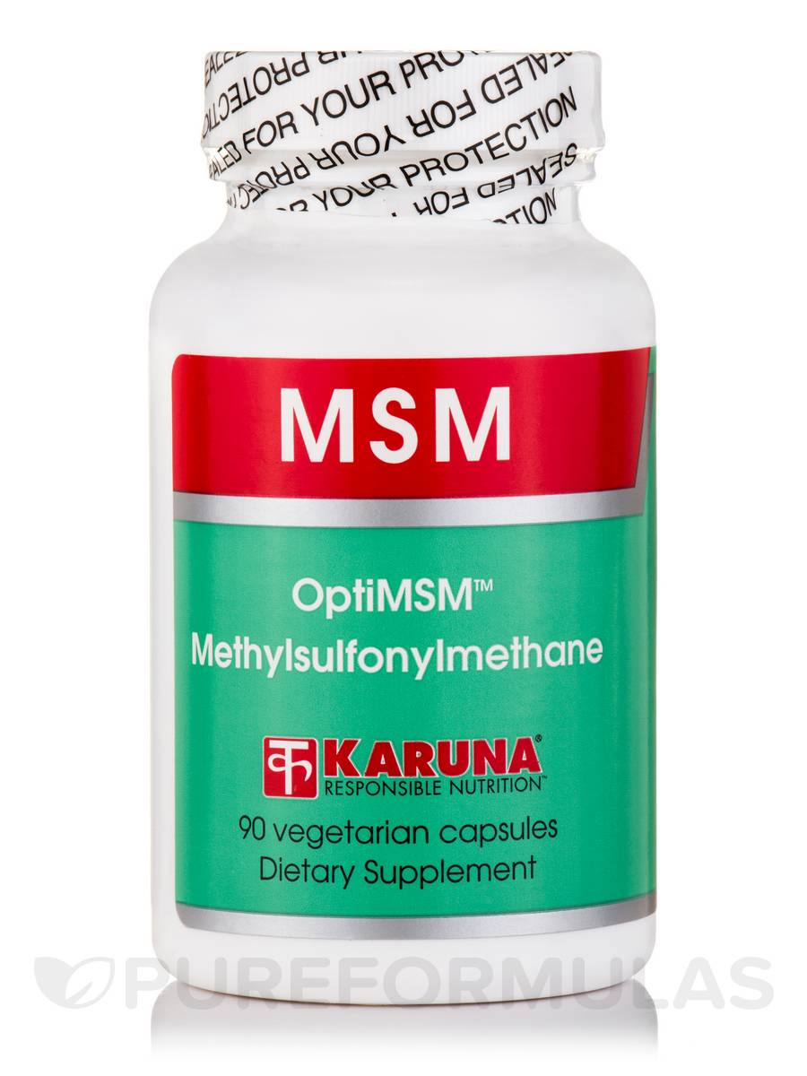 MSM (OptiMSM) - 90 Vegetarian Capsules