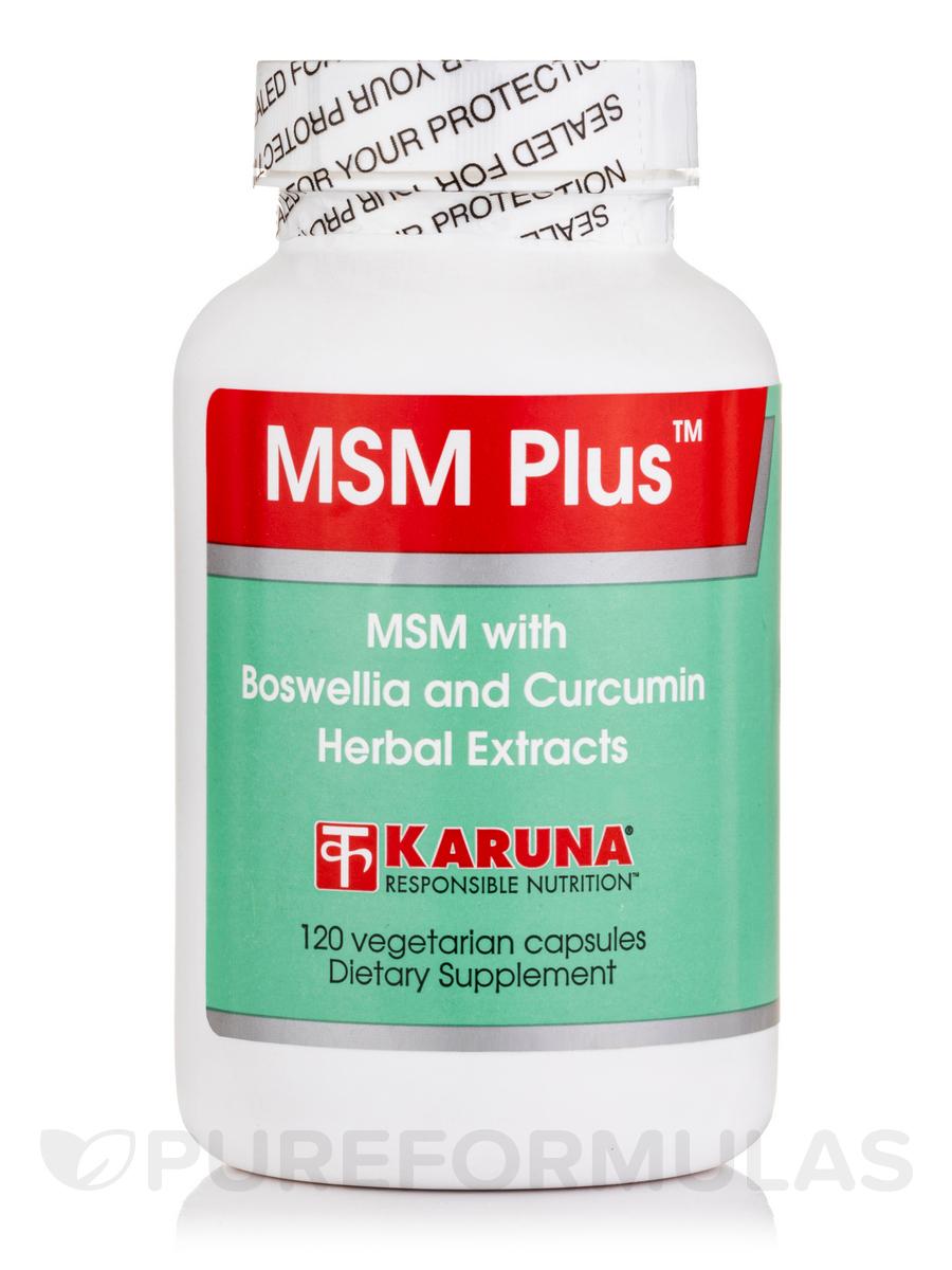 MSM Plus - 120 Vegetarian Capsules