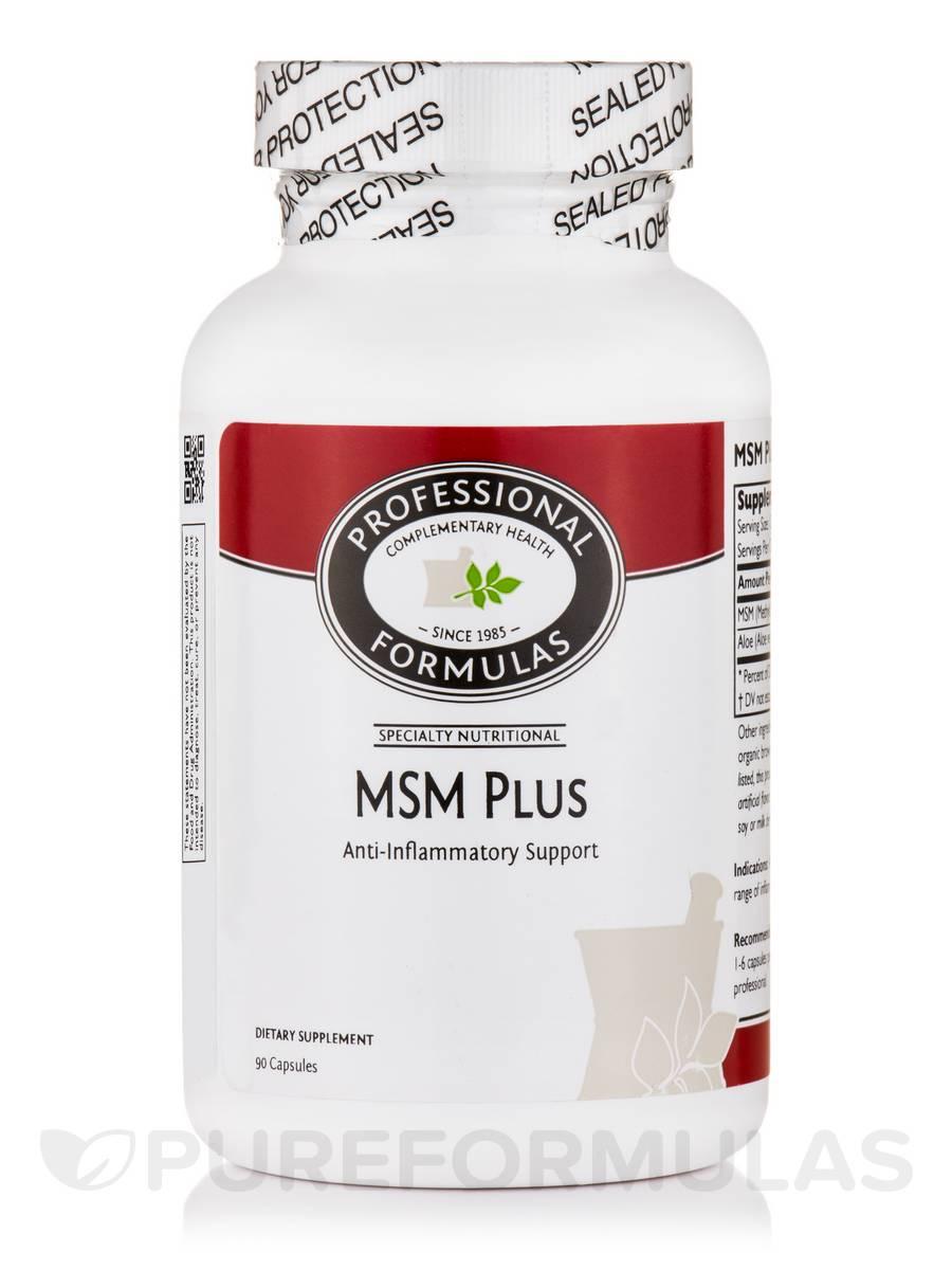MSM Plus - 90 Capsules