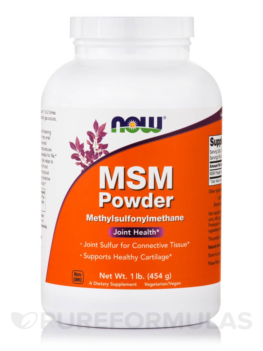MSM Powder - 1 lb (454 Grams)