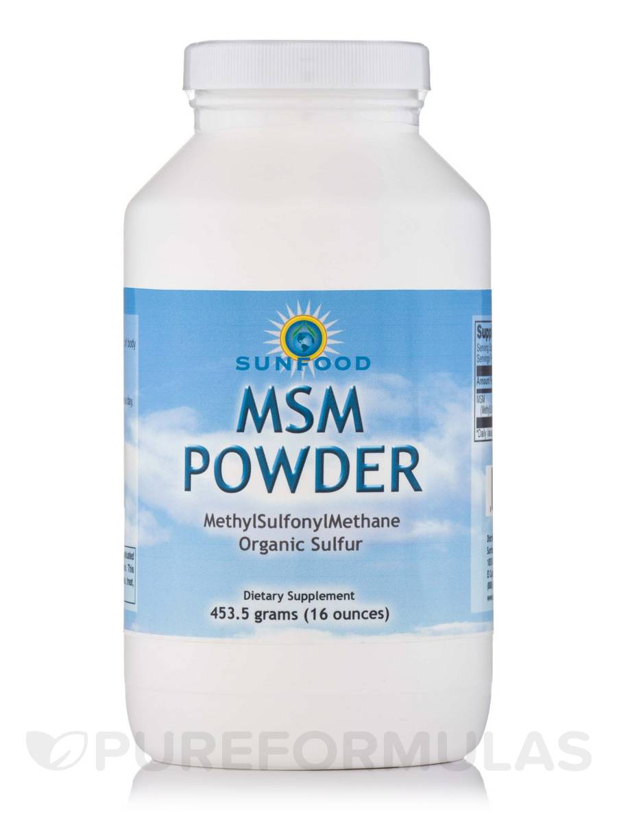 MSM Powder - 16 oz (453.5 Grams)