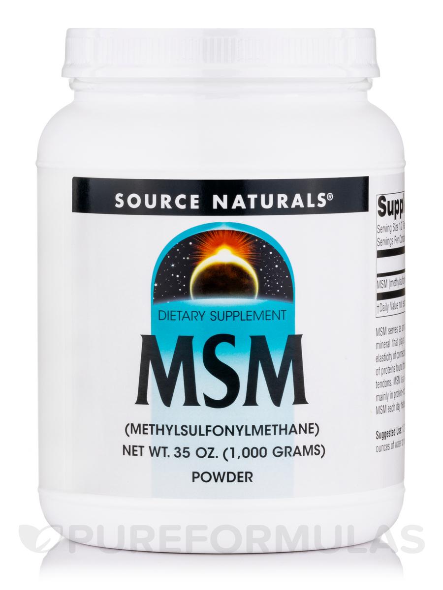 MSM Powder - 35 oz (1000 Grams)