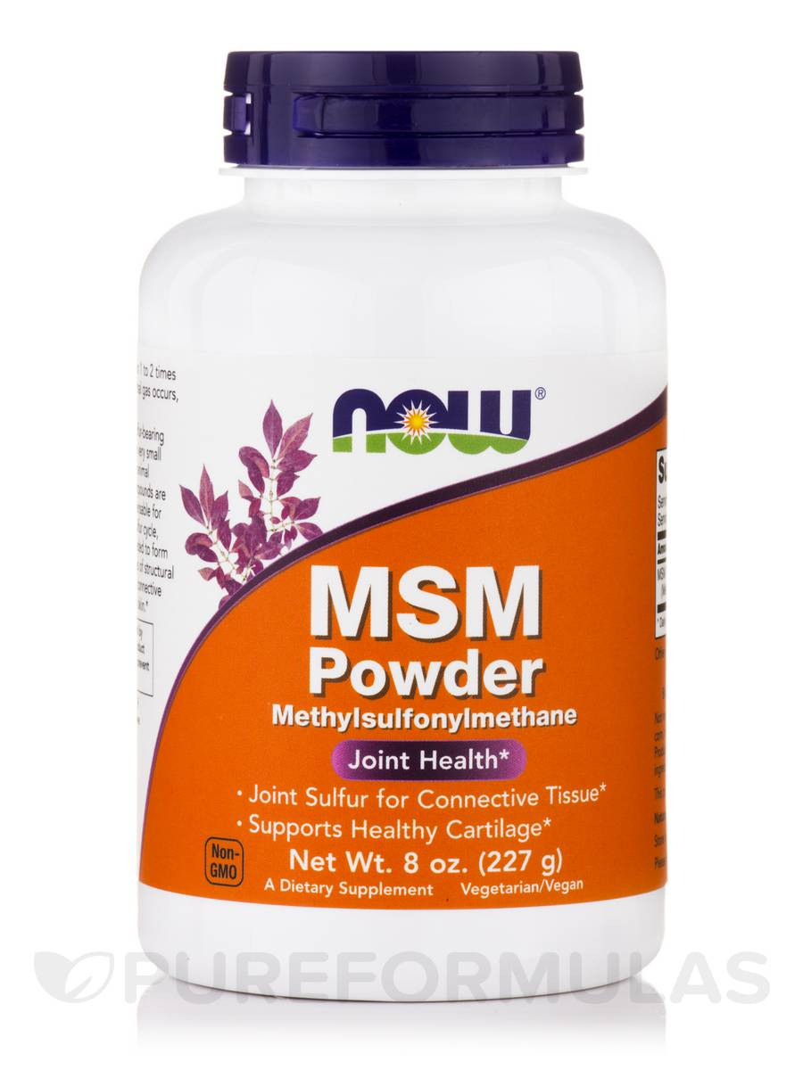 MSM Powder - 8 oz (227 Grams)