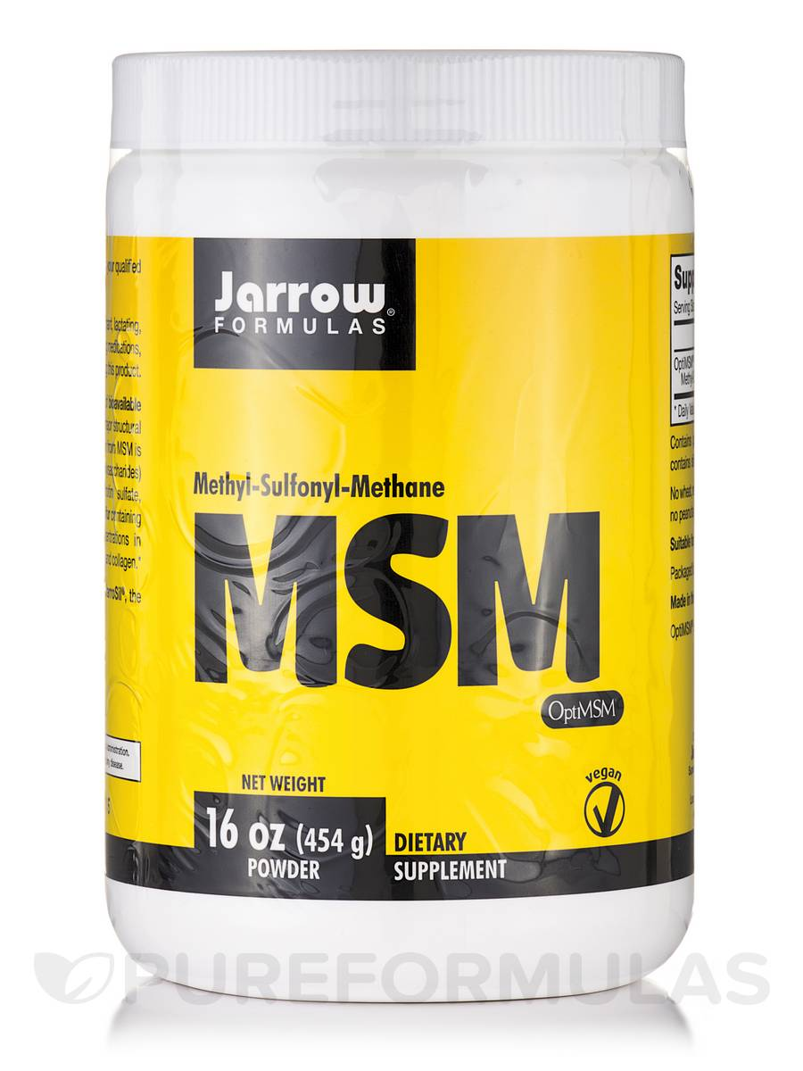 MSM Sulfur Powder - 16 oz (454 Grams)