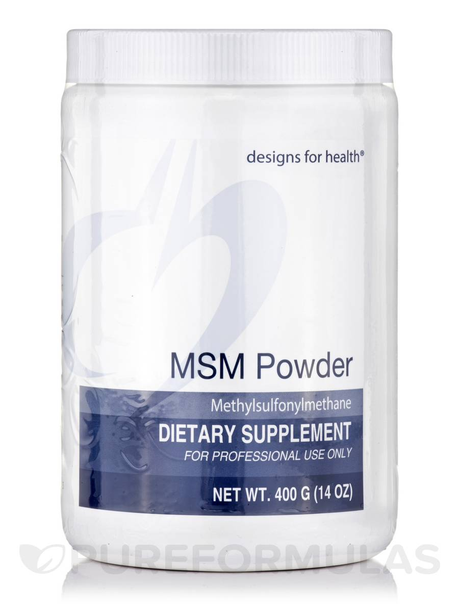 MSM Powder - 14 oz (400 Grams)