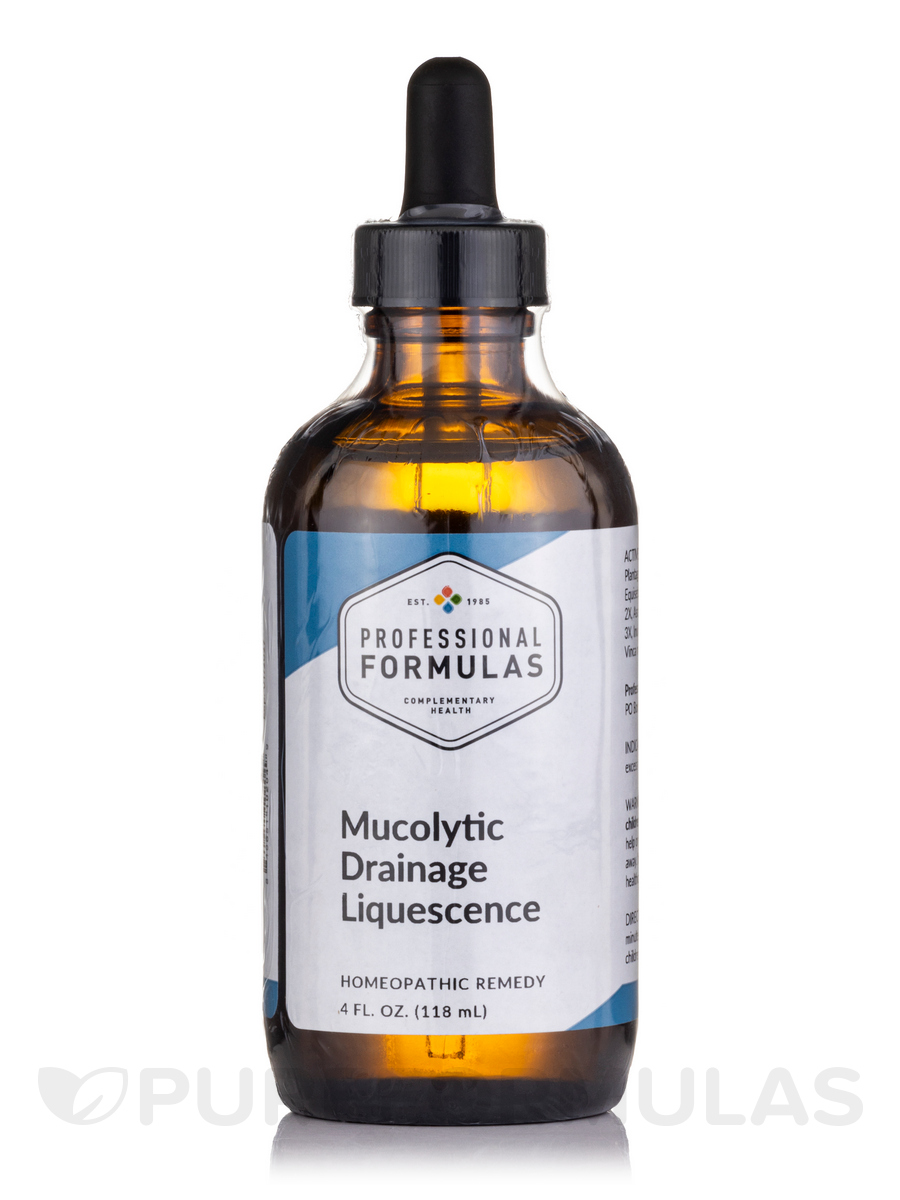 Mucolytic Drainage Formula - 4 fl. oz (120 ml)