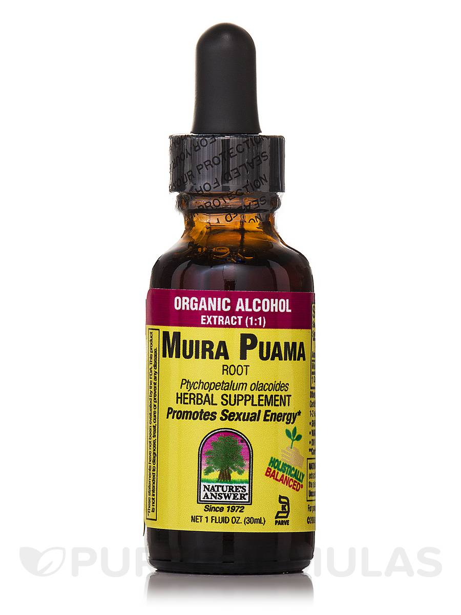 Muira-Puama Root Extract - 1 fl. oz (30 ml)