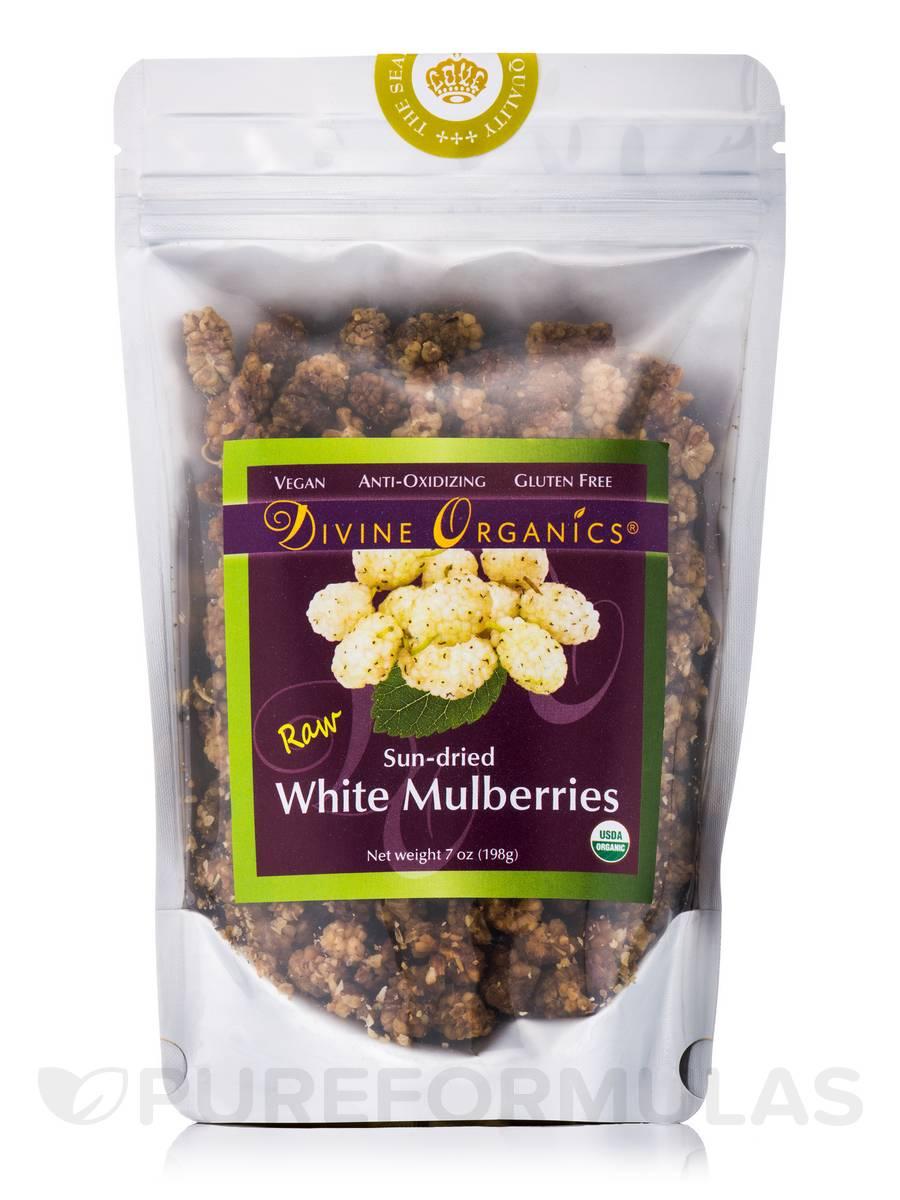 White Mulberries - 7 oz (198 Grams)