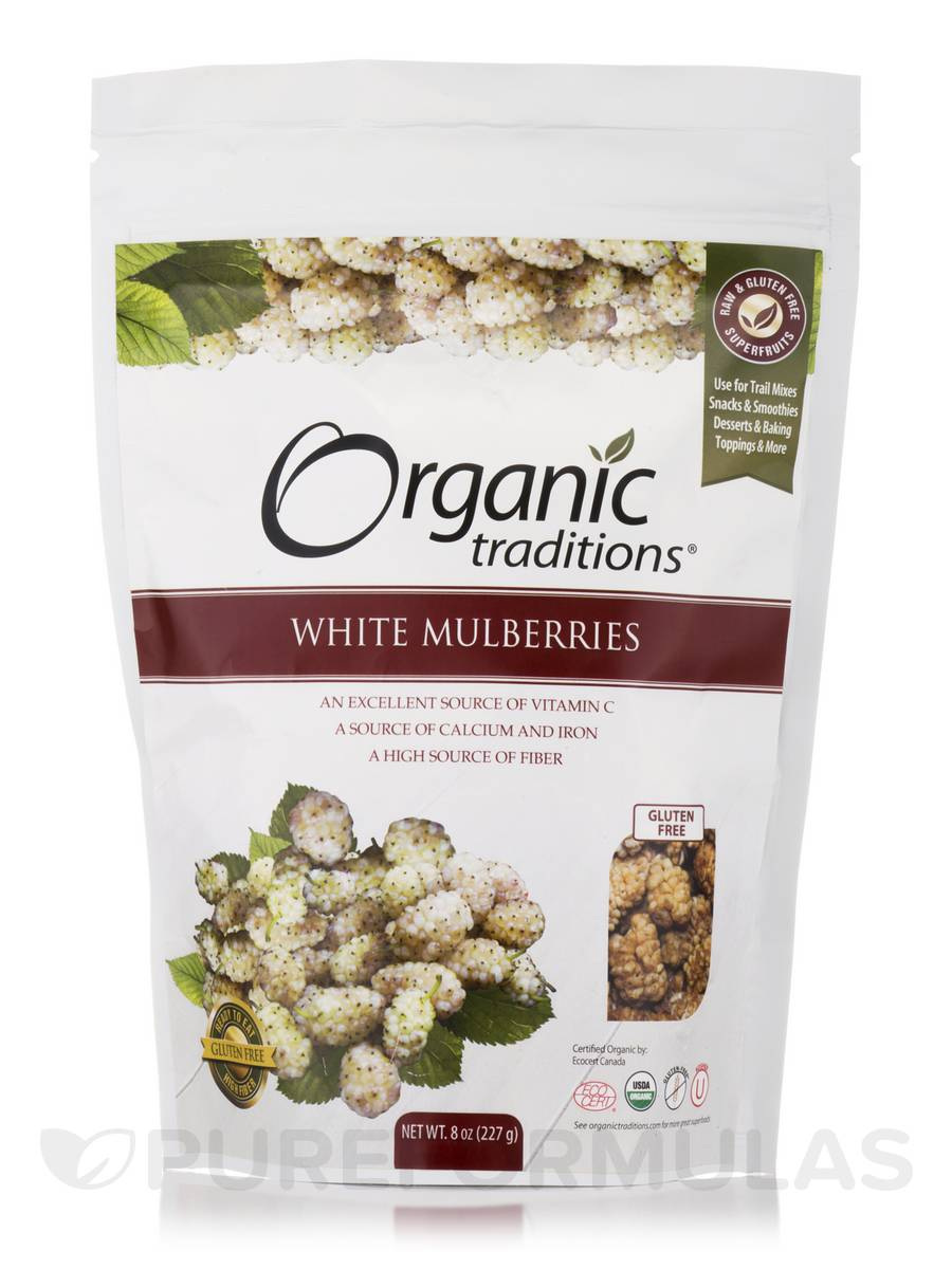 White Mulberries - 8 oz (227 Grams)
