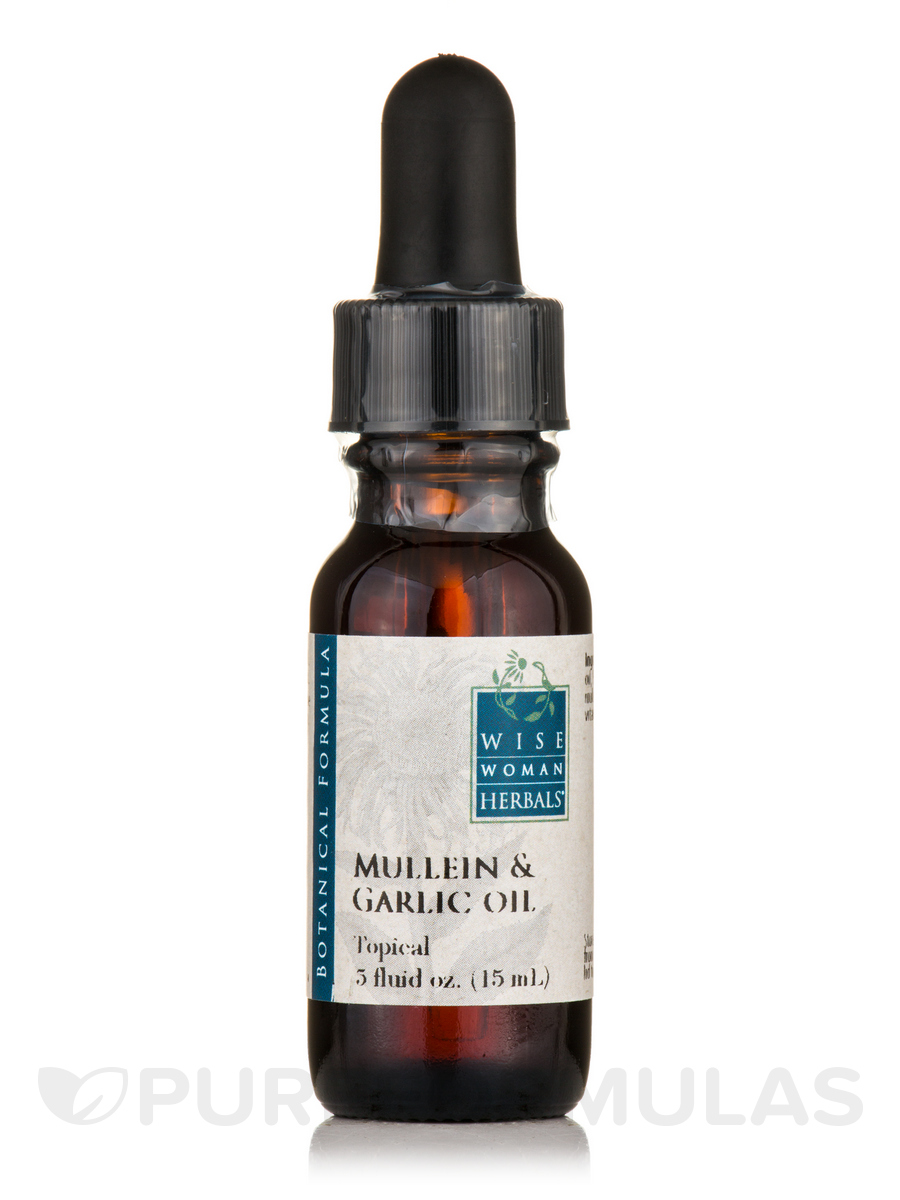 Mullein & Garlic Oil - 0.5 fl. oz