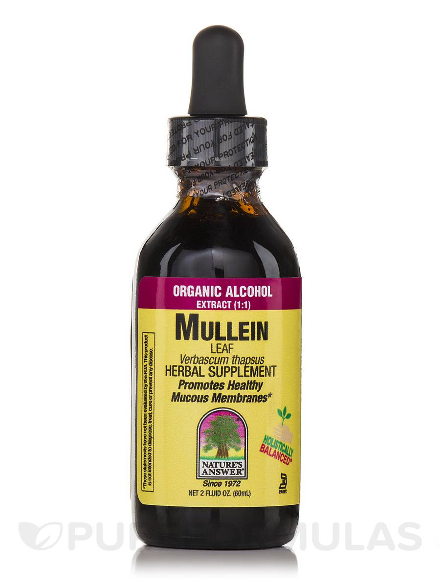 Mullein Leaf Extract - 2 fl. oz (60 ml)
