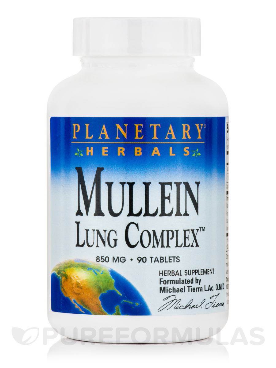 Mullein Lung Complex 850 mg - 90 Tablets