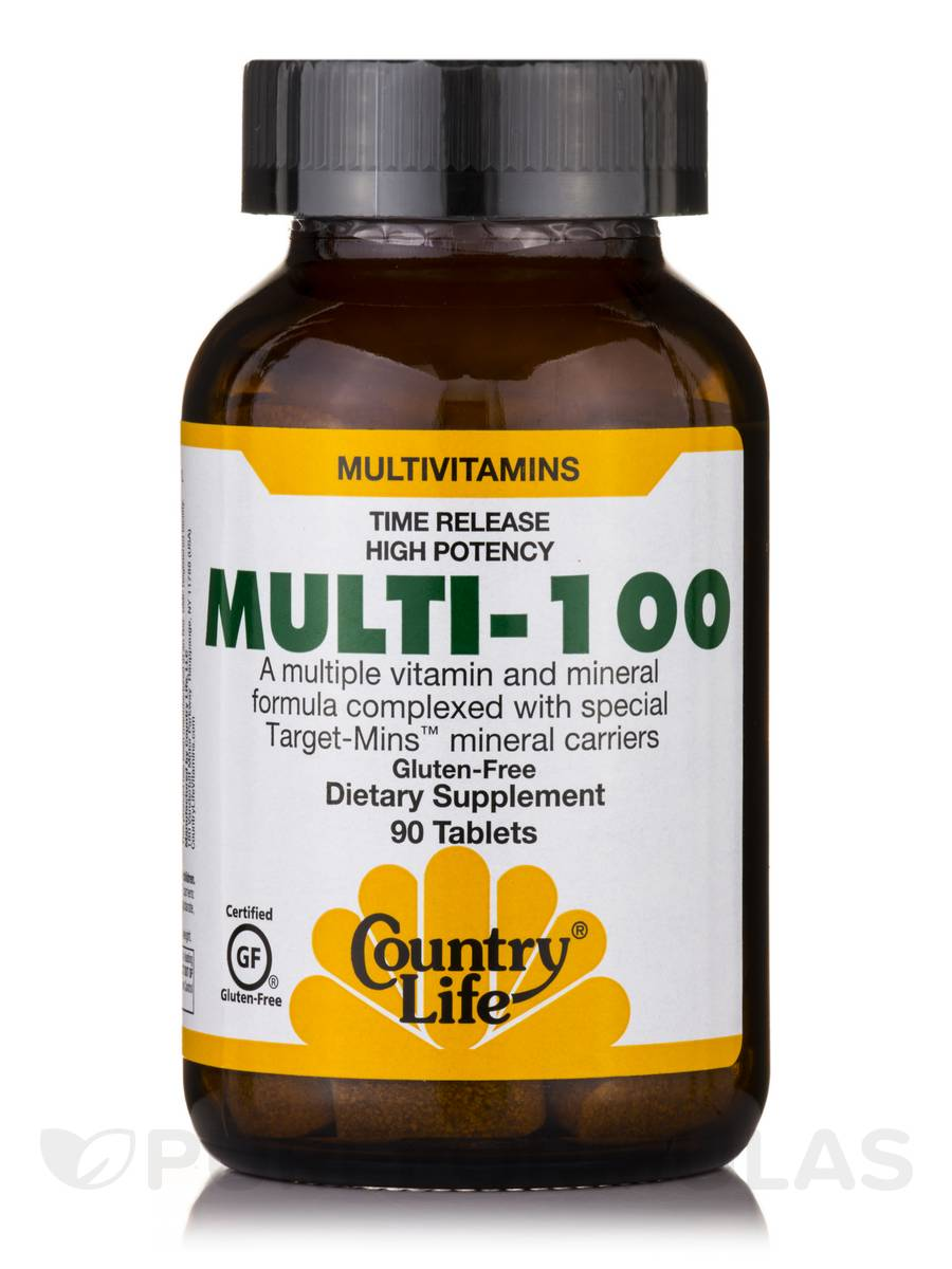 Multi 100 TR - 90 Tablets