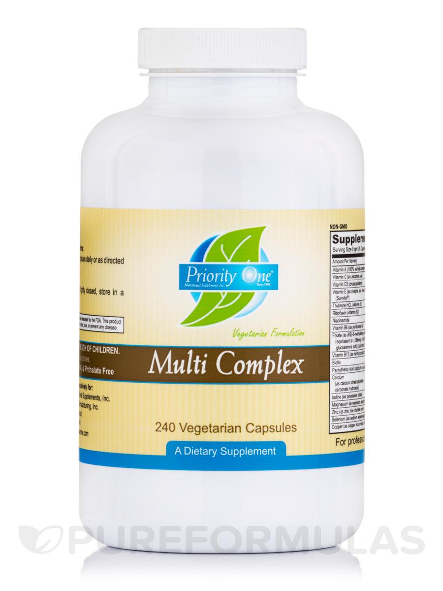 Multi Complex Capsules - 240 Vegetarian Capsules