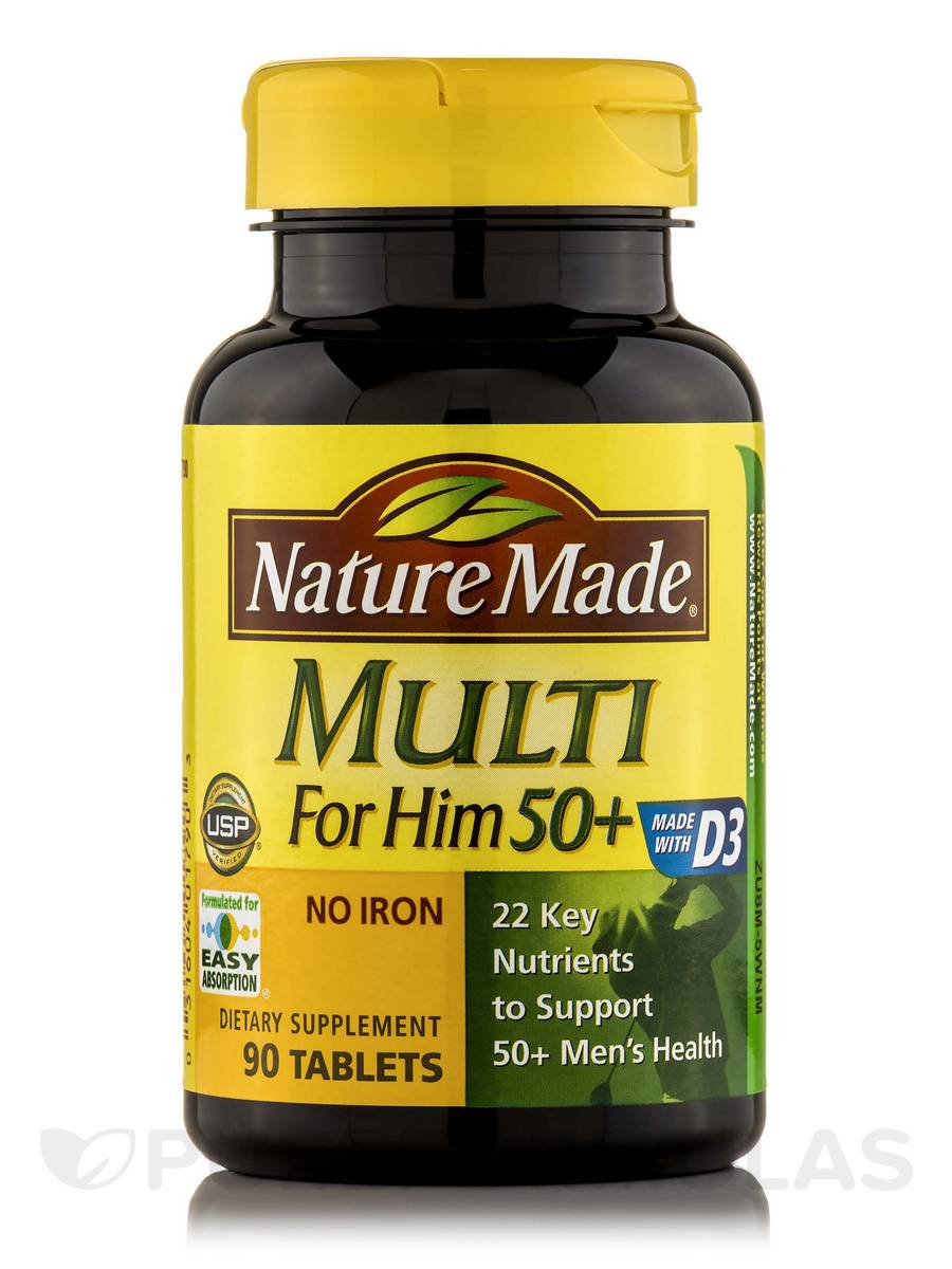 Multi For Him 50+ - 90 Tablets