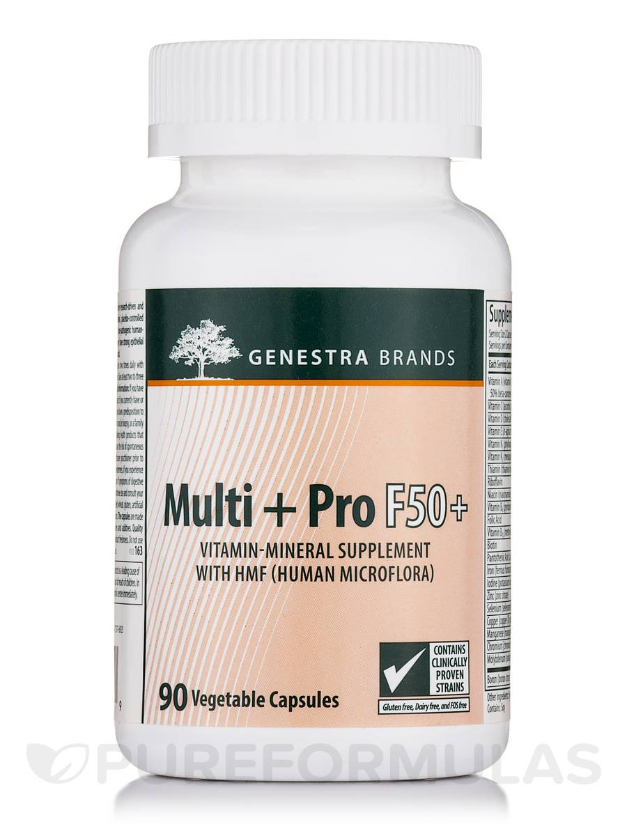 Multi + Pro F50+ - 90 Vegetable Capsules