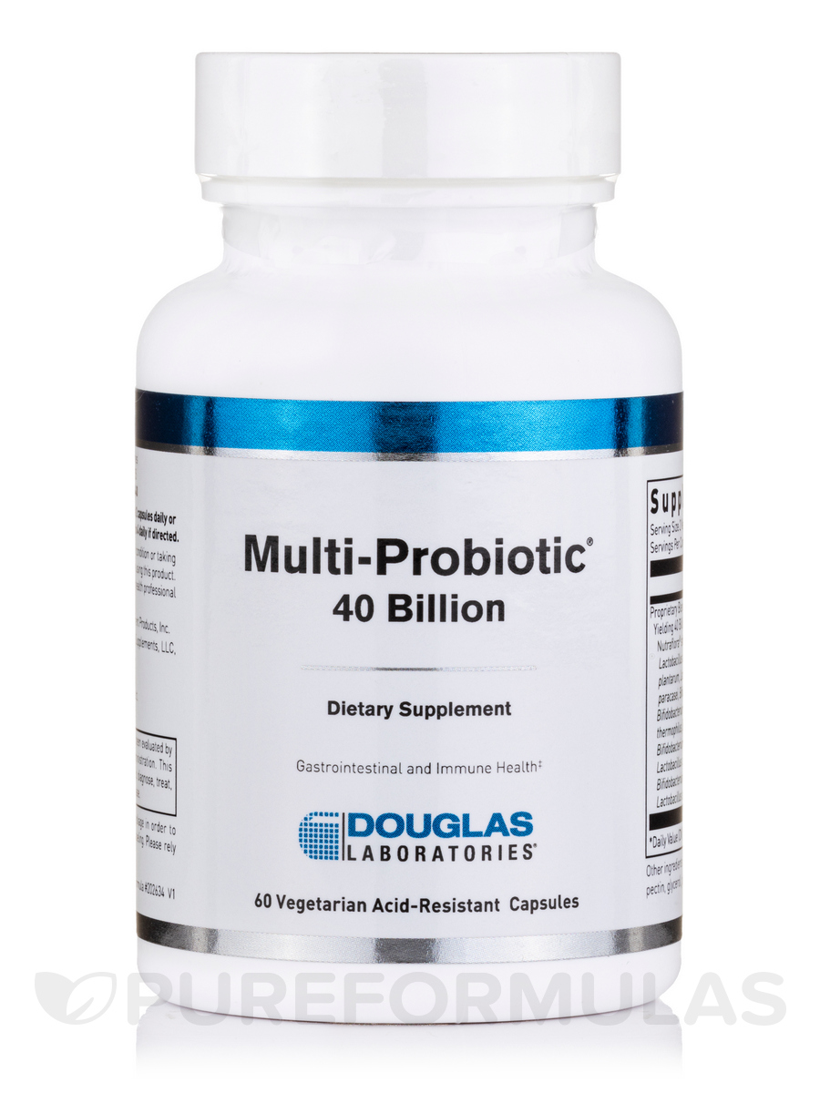 Multi-Probiotic® 40 Billion - 60 Vegetarian Capsules