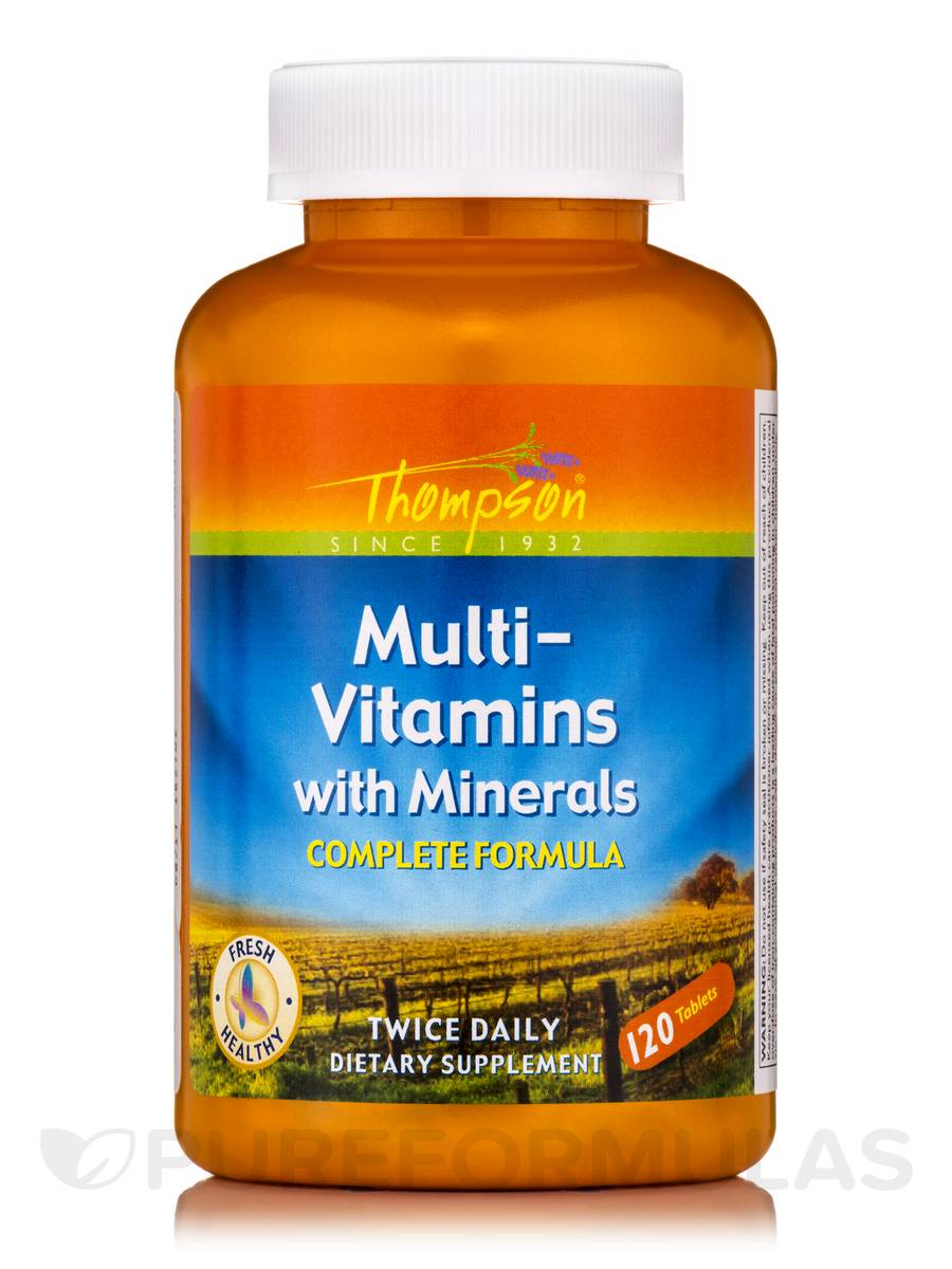 Multi Vitamin/Mineral - 120 Tablets