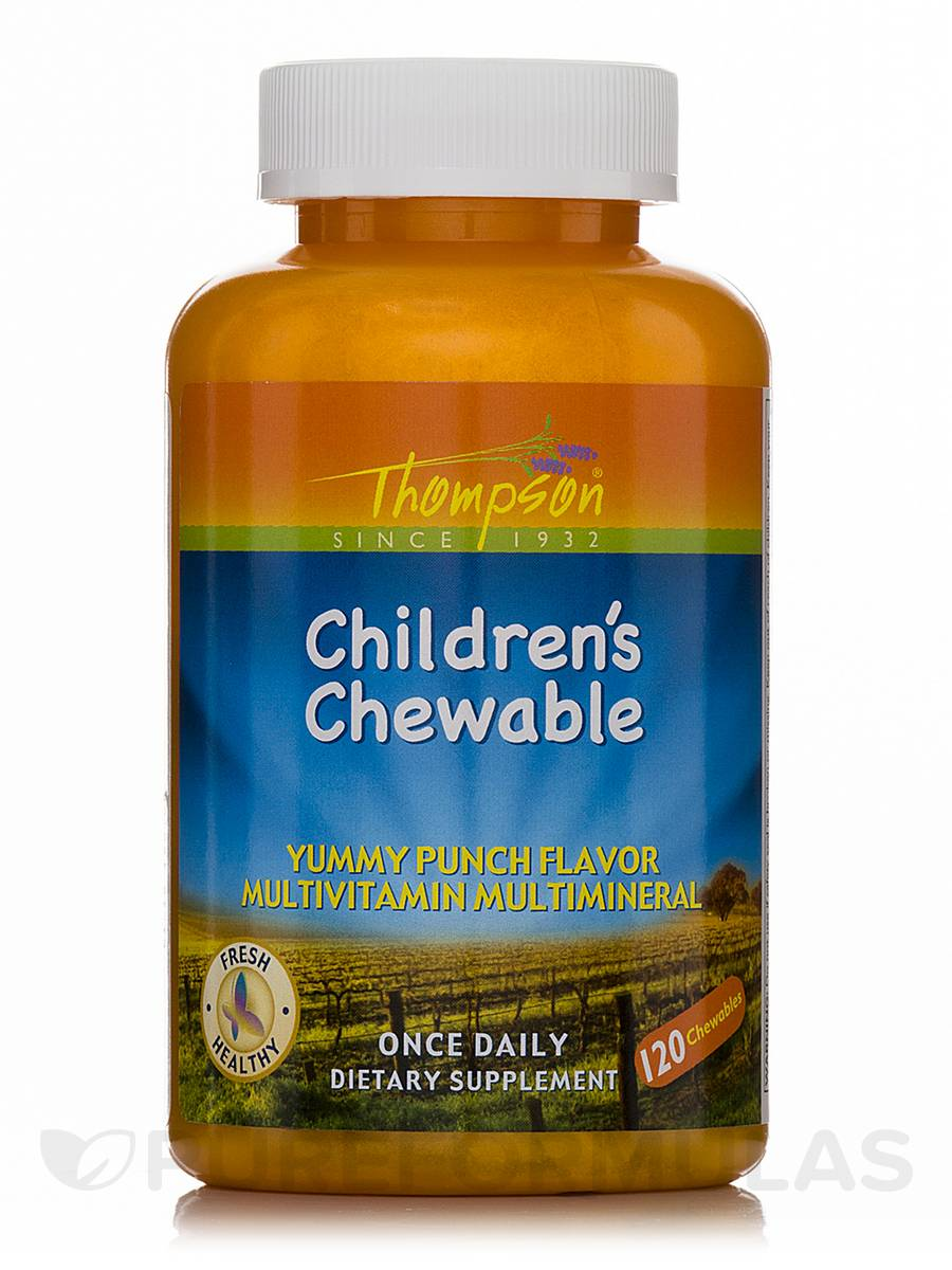 Children's Chewable (Yummy Punch Flavor Multivitamin Multimineral) - 120 Chewables
