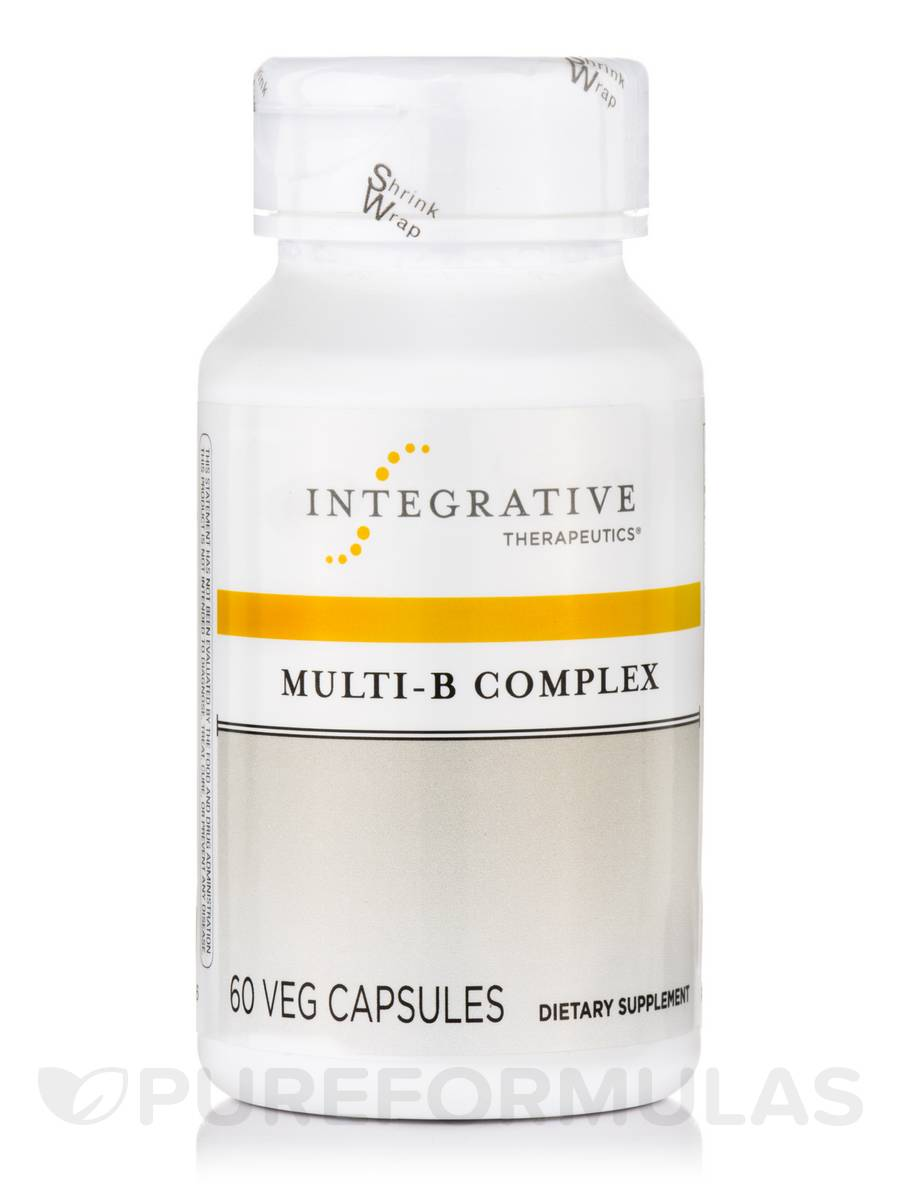 Multi-B Complex - 60 Veg Capsules