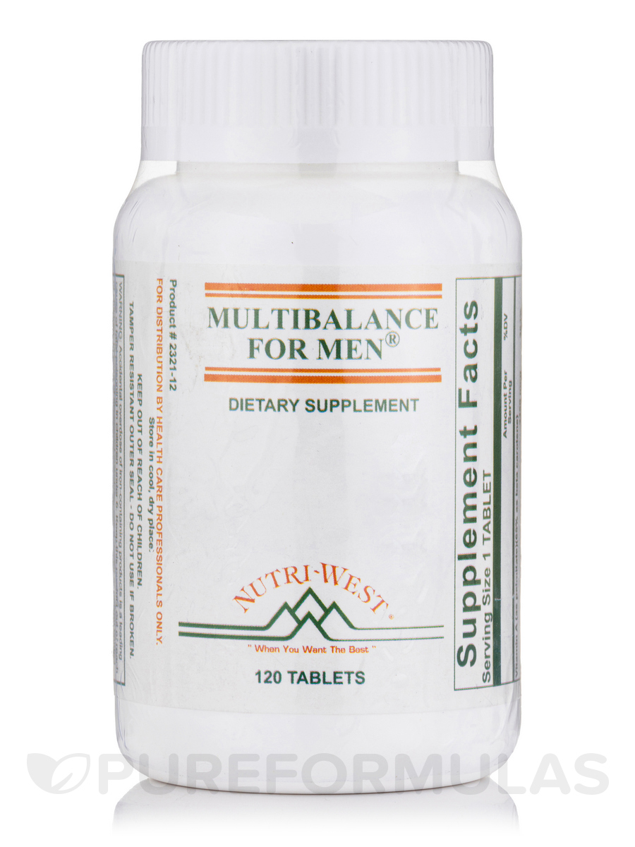 Multibalance for Men - 120 Tablets