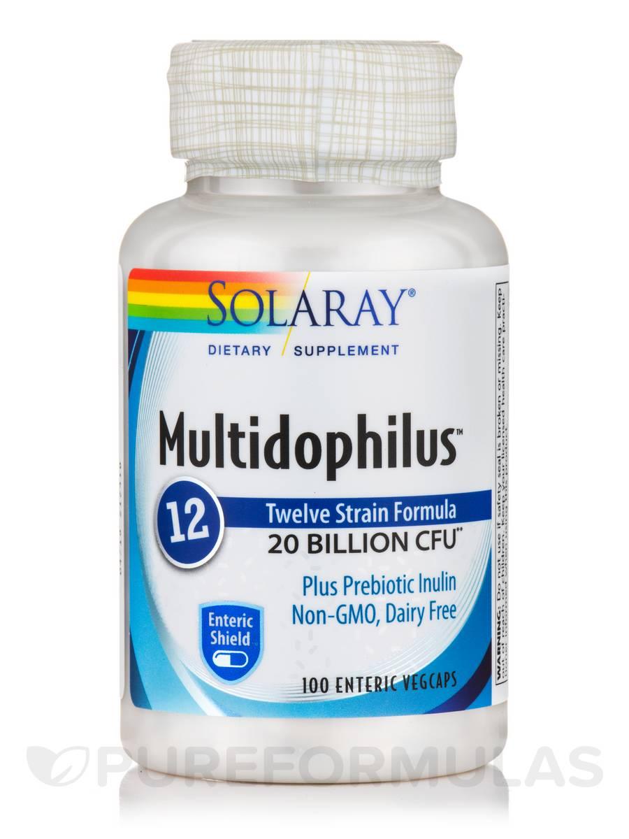 Multidophilus 12 Strain Formula, 20 Billion CFU - 100 Enteric VegCaps