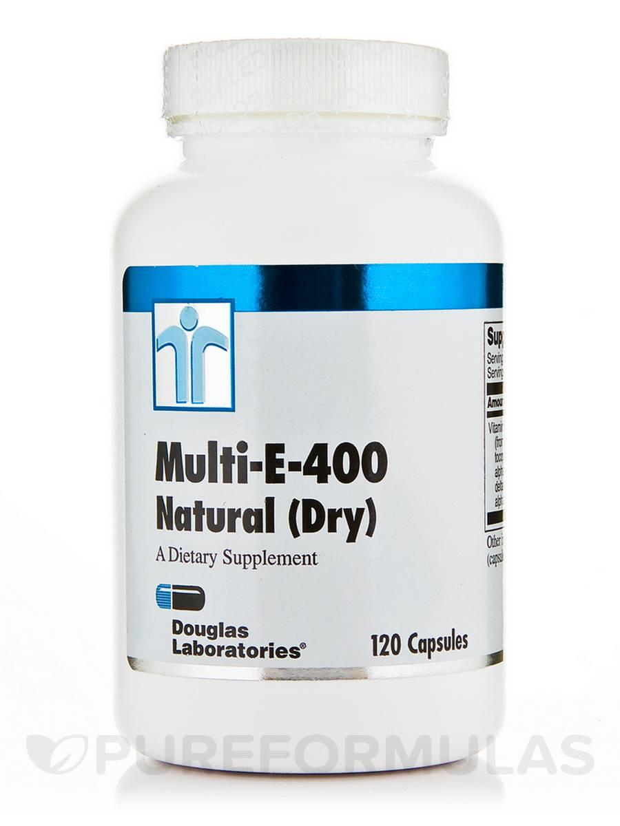 Multi-E-400 Natural (Dry) - 120 Capsules