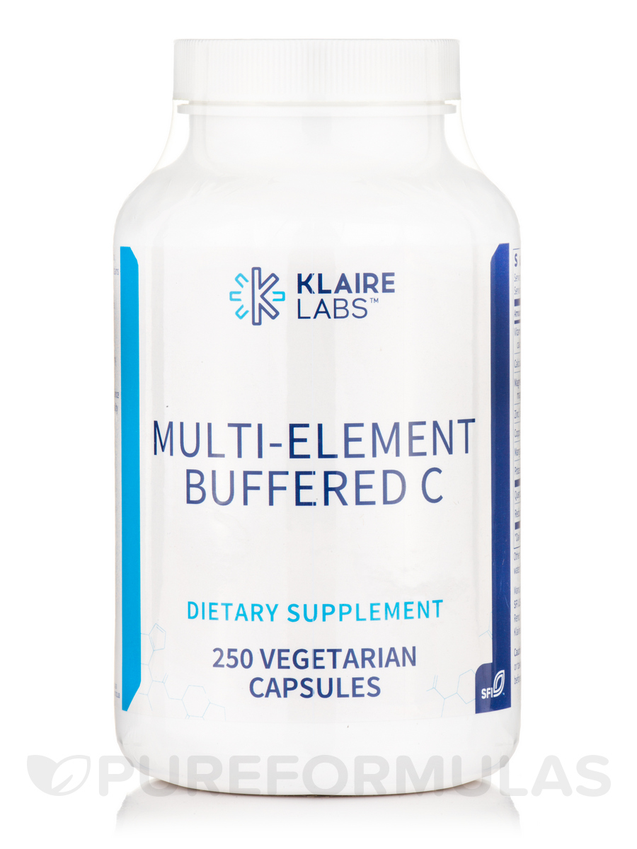 Multi-Element Buffered C - 250 Vegetarian Capsules