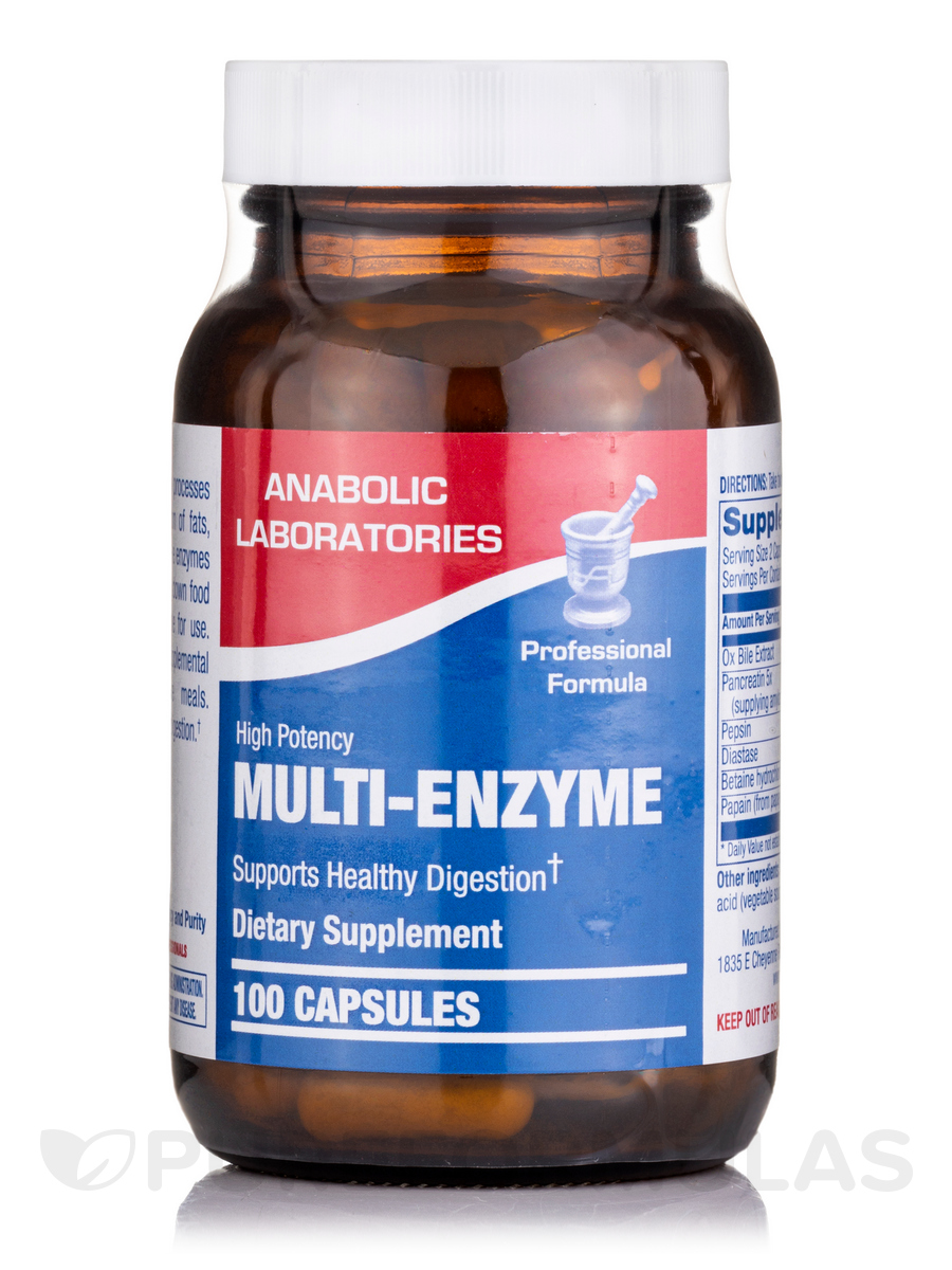 Multi-Enzyme - 60 Capsules
