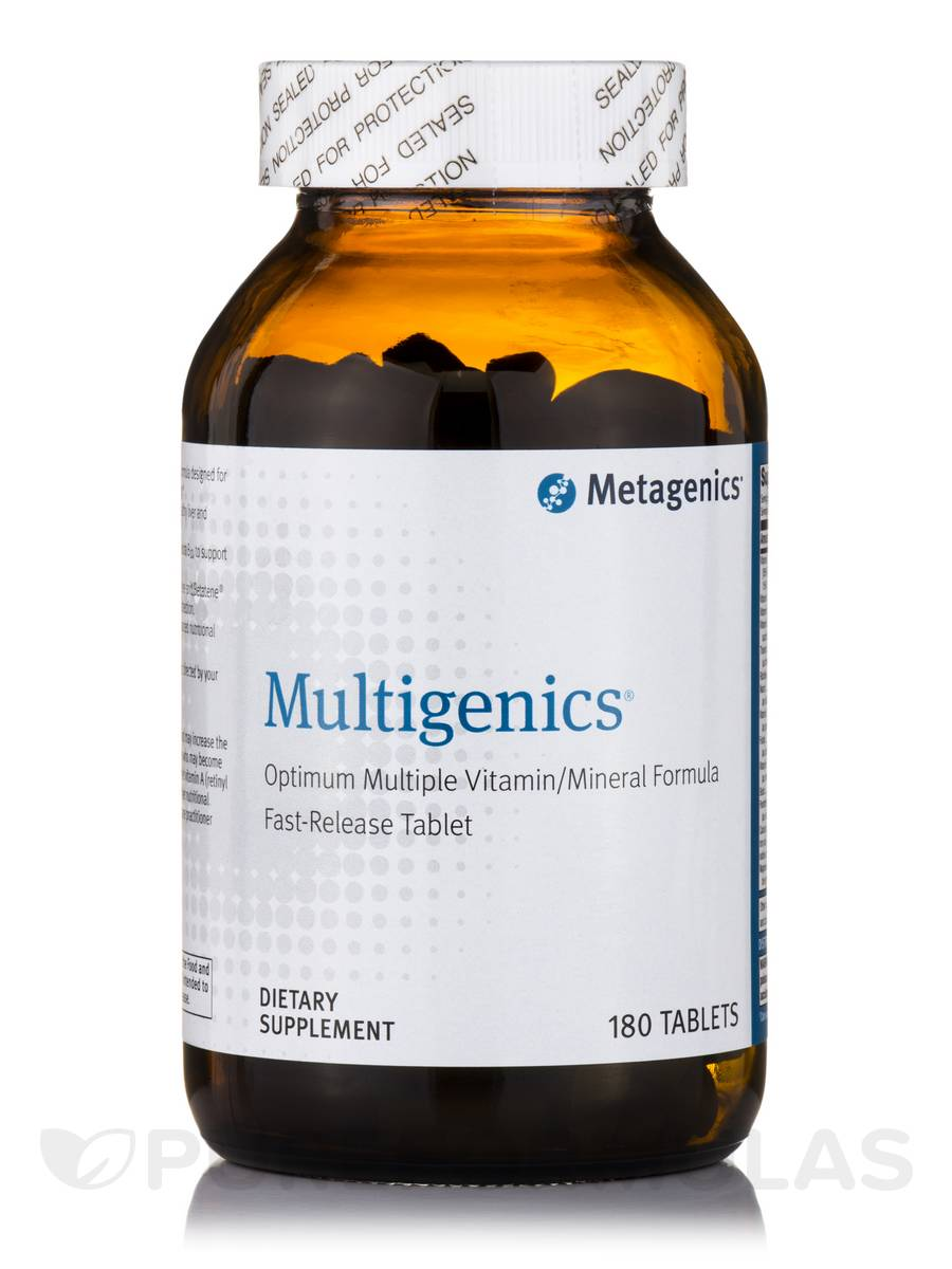 Multigenics® - 180 Tablets
