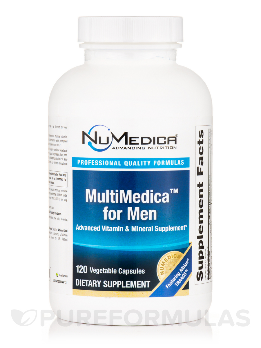 MultiMedica for Men - 120 Vegetable Capsules