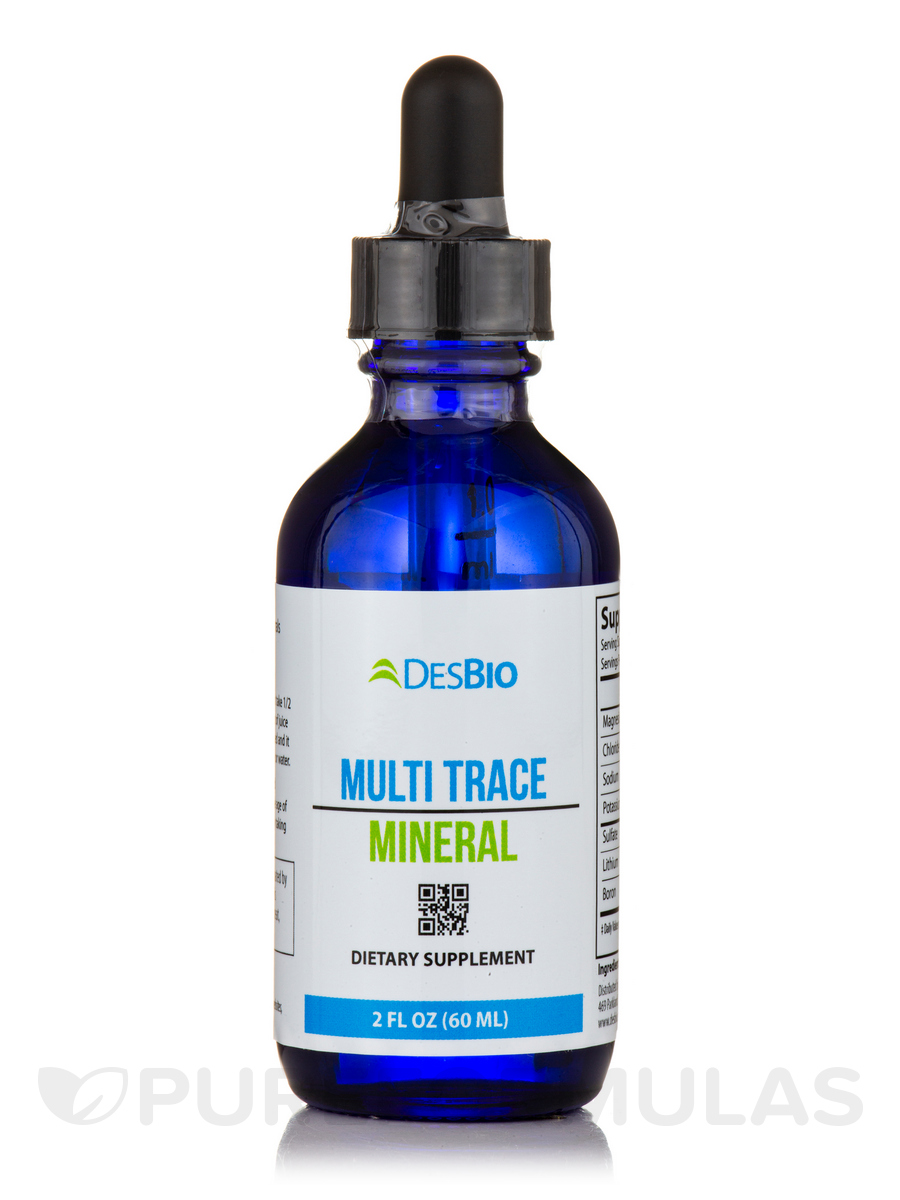 Multi-Mineral Plus (Grape Flavor) - 2 fl. oz (60 ml)