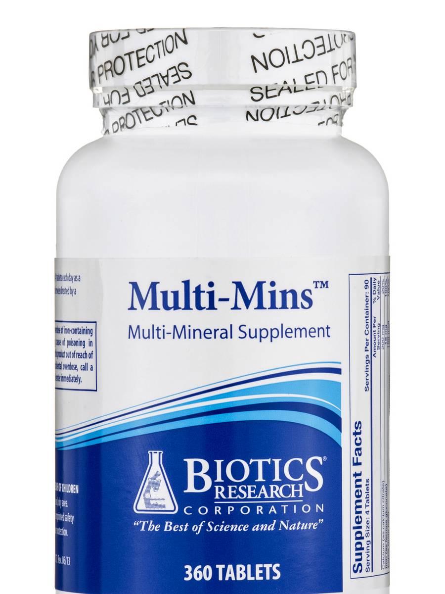 Multi-Mins - 360 Tablets